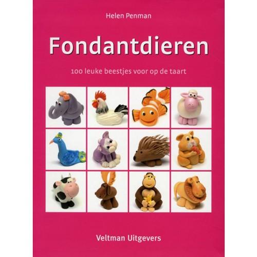 Fondantdieren - Helen Penman - fondánová zvířátka