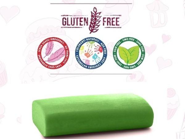 Cukrářská potahovací hmota Madame Loulou - Verde Fashion - Zelená - 250g