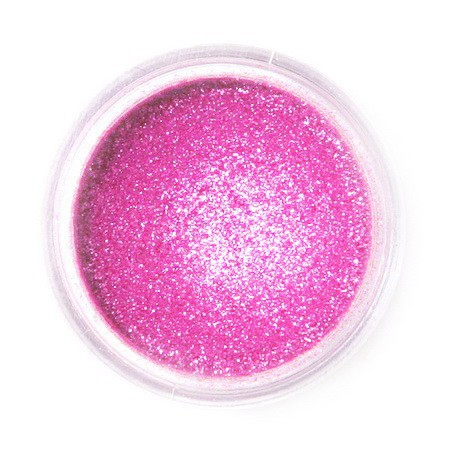 Dekorativní prachová perleťová barva Fractal - Sparkling Magenta, Szikrázó magenta (3,5 g)