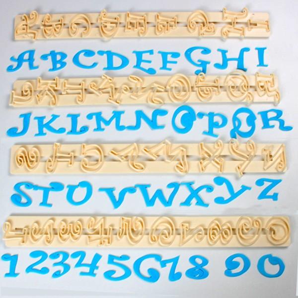 FMM Velká abeceda a čísla - Chunky Funky - 2cm