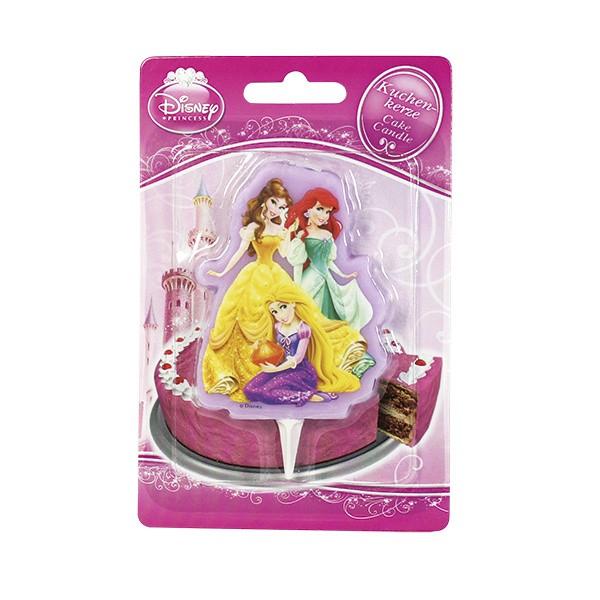 Dortová svíčka - Disney Princess - 1ks